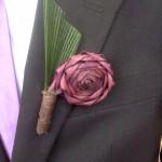 Flax buttonhole