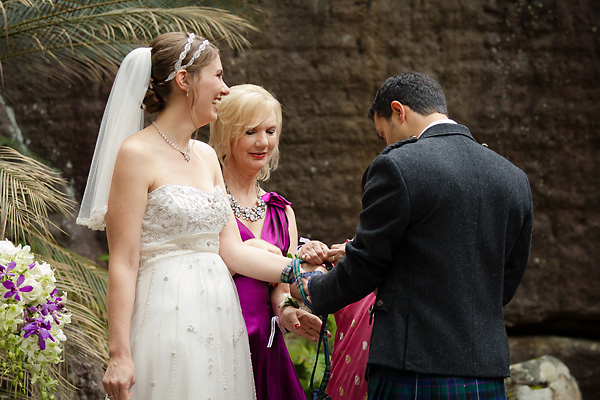 Handfasting - Michelle and Kasthala